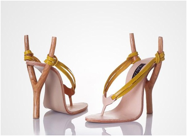 Slingshot Heel-Crazy Yet Creative High Heel Designs By Kobi Levi