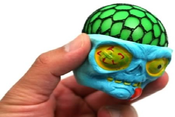 Scary skull-Coolest Stress Balls