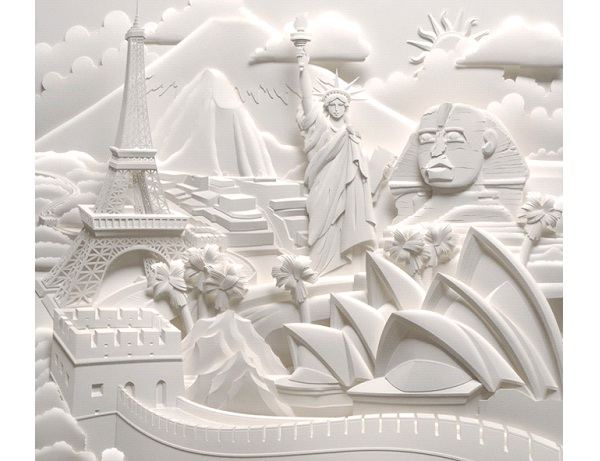 Landmarks-Most Amazing Paper Sculptures