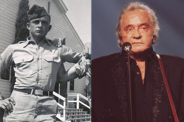 Johnny Cash-Musicians Who Were Once In The Military
