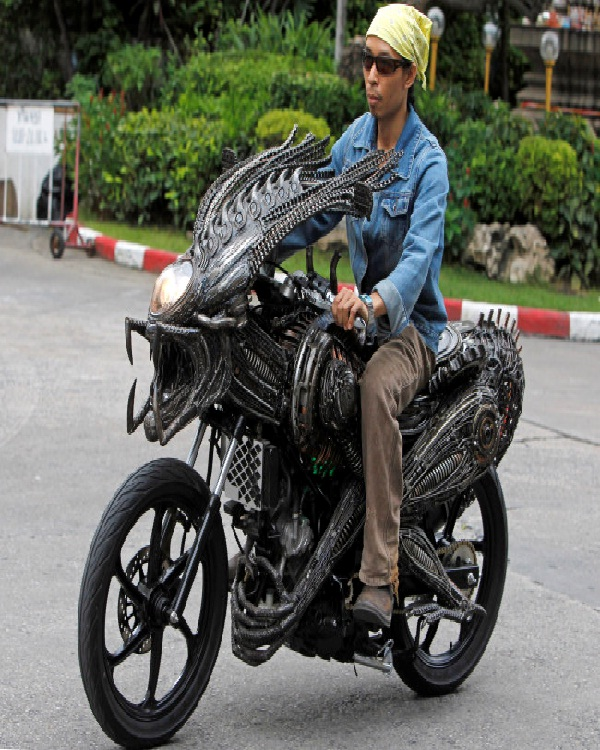 Alien motorcycle-Amazing Motorcycles