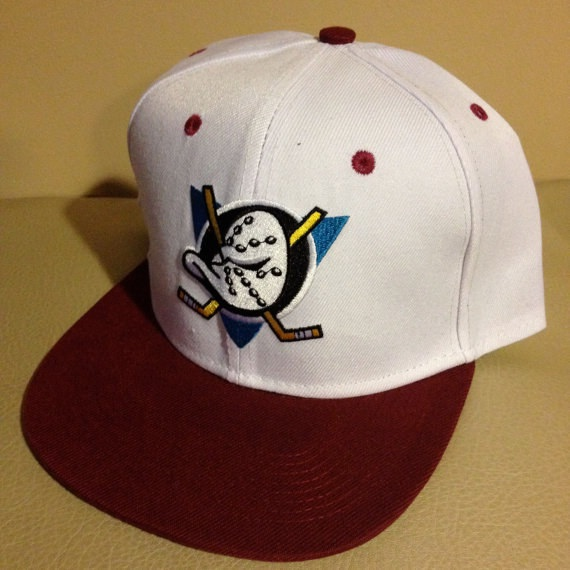 Mighty Ducks hat-Etsy Items That Will Remind You Of Your Childhood
