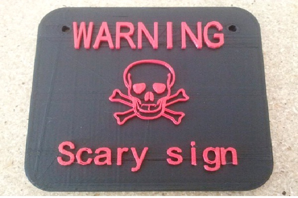 Scary Sign-Scariest Warning Signs