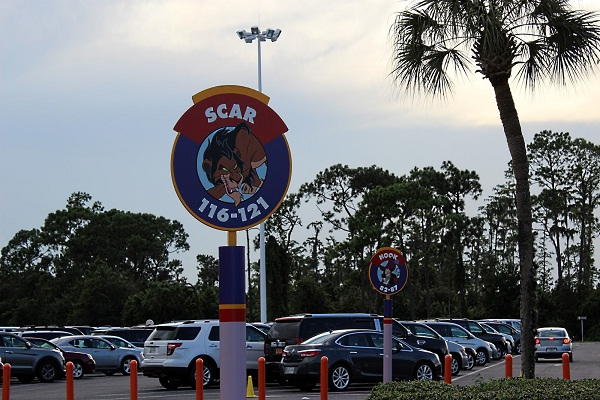 Parking Lot-Disney World Secrets You Didn't Know