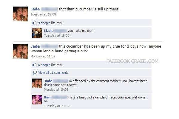 Cucumber issues-Best Facebook Pranks