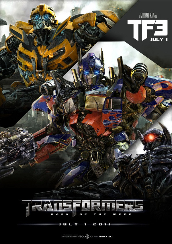 Transformers: Dark of the Moon-Highest Revenue Generating Movies Ever