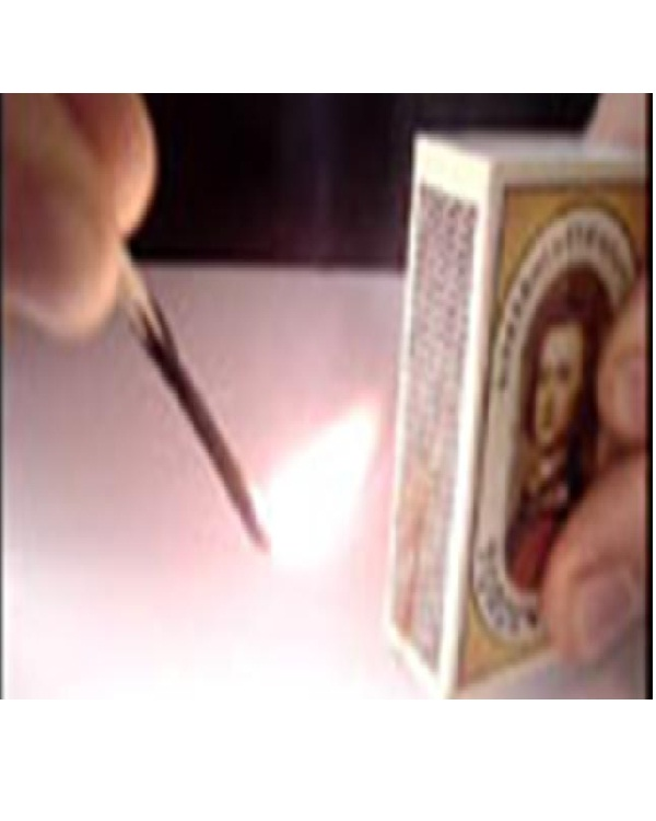 Light a used match-15 Easy Homemade Magic Tricks You Can Learn Within Minutes