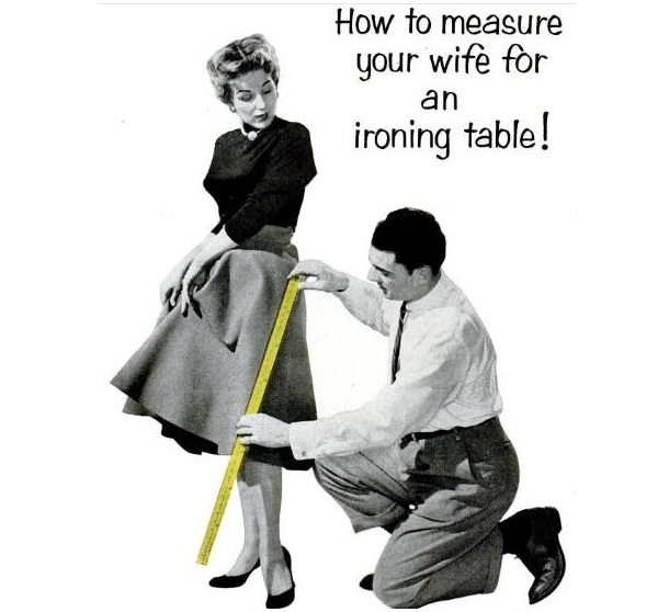 Ironing table-Ads That Should Be Banned