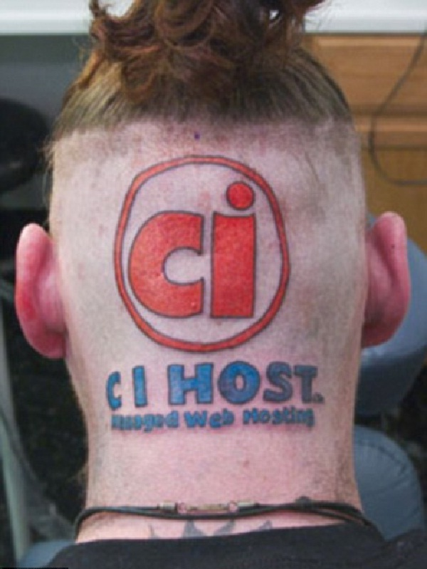 CI Host-Disgusting Advertisement Tattoos