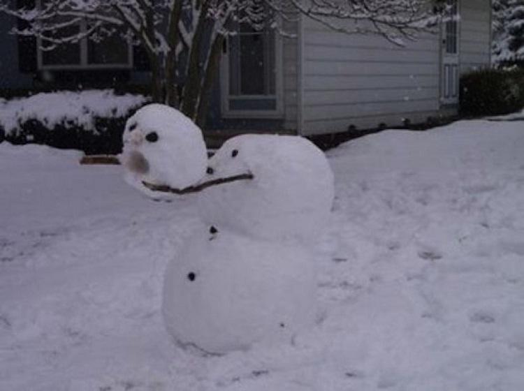 Lost my head!!-Craziest Snowmen Ever