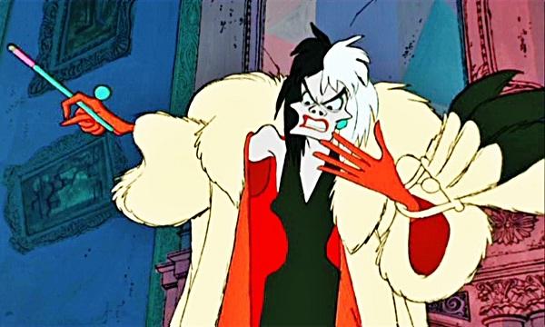 Cruella De Vil-Best Disney Villains