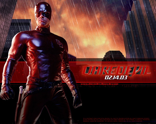 Daredevil-Superhero Movies That Disappointed Us