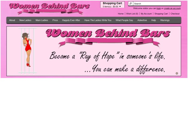 Women Behind Bars-Most Bizarre Dating Websites
