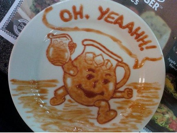 Kool Aid-Amazing Ketchup Art