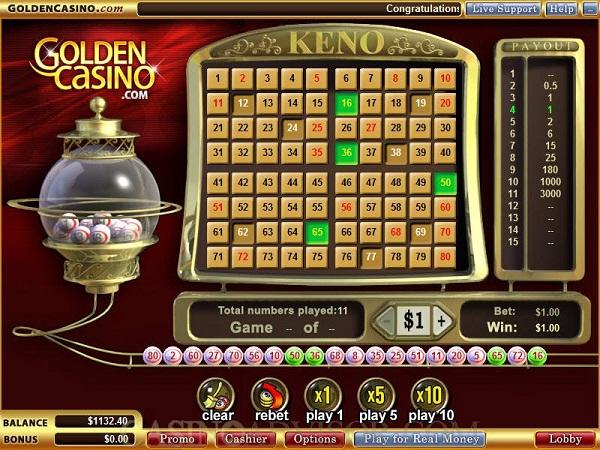Keno-Insane Fact About Gambling