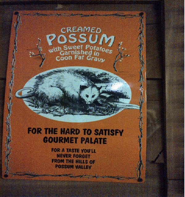 Lovely possum-Most Gross Food Names