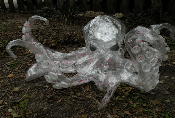 Amazing Packing Tape Sculptures