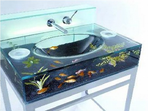 The sink-Creative Aquariums