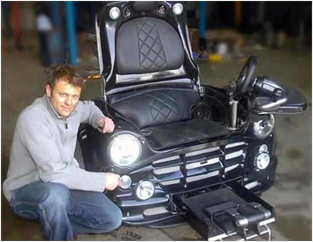 Vehicle-Chair-Must Have Man Cave Accessories
