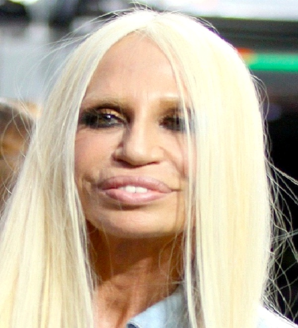 Donatella Versace-Most Ugly Celebrities