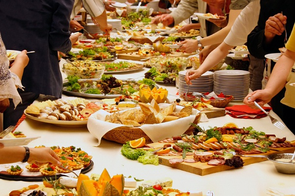 Catering-Best Paying Side Jobs For Quick Money