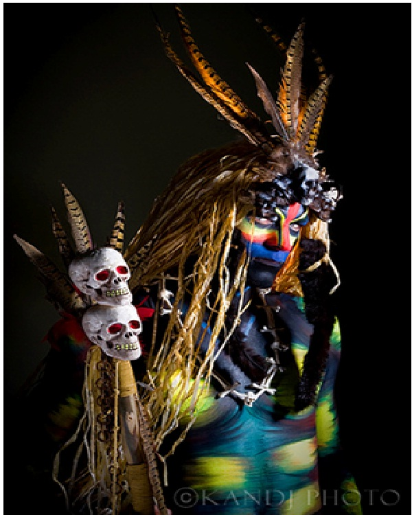 Witch Doctor-Best Halloween Body Paintings