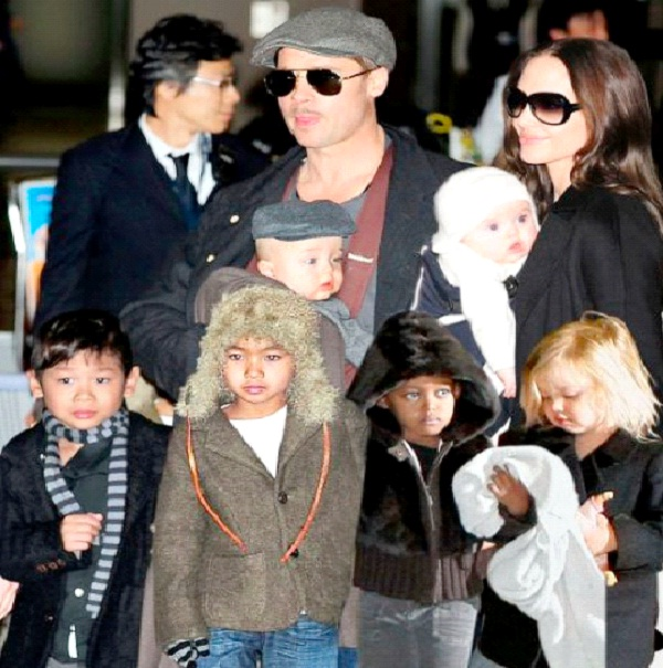 Angelina Jolie-Celebrities Who Have Adopted Babies