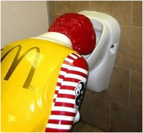 Ronald McDonald Binge Drinking-Sad Reality Of Ronald McDonald