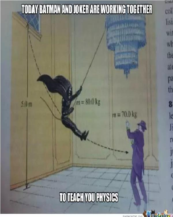 Physics-Best Joker Memes