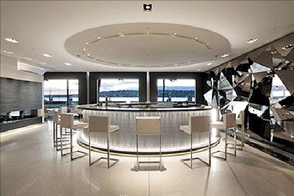 Hotel Room: Royal Penthouse Suite, Hotel President Wilson in Geneva $65,000 a night-Most Expensive Things In The World