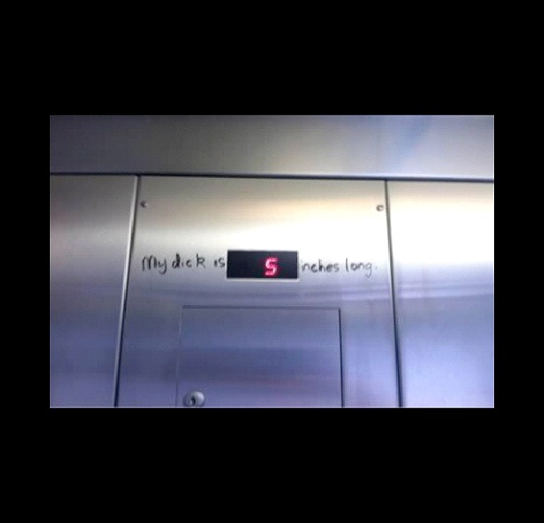 Size Matters-Absolutely Hilarious Elevator Notes