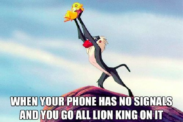 Bad signal-Best Lion King Memes