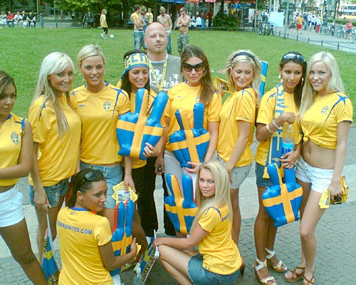 Sweden-The Best Countries To Hook Up With A Girl