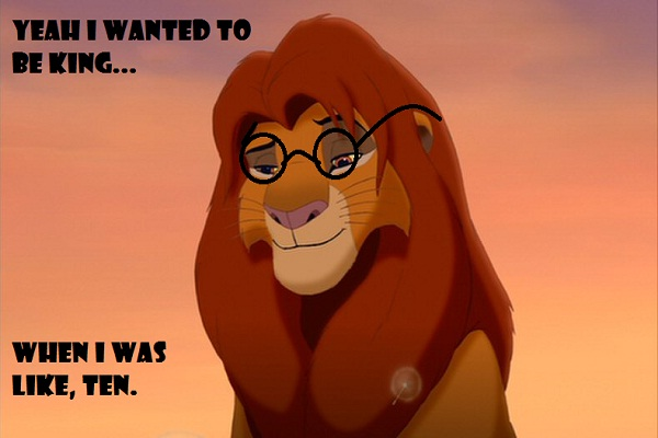 Even lions wear them-Disney Characters As Hipsters