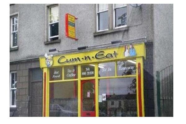 Cum-N-Eat-Worse Restaurant Names Ever