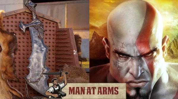 Kratos Blade-Virtual World Weapons In Reality