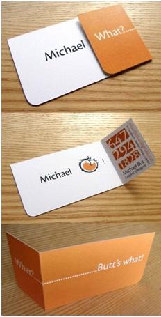 Chicken Butt Business Card-Funniest Business Cards
