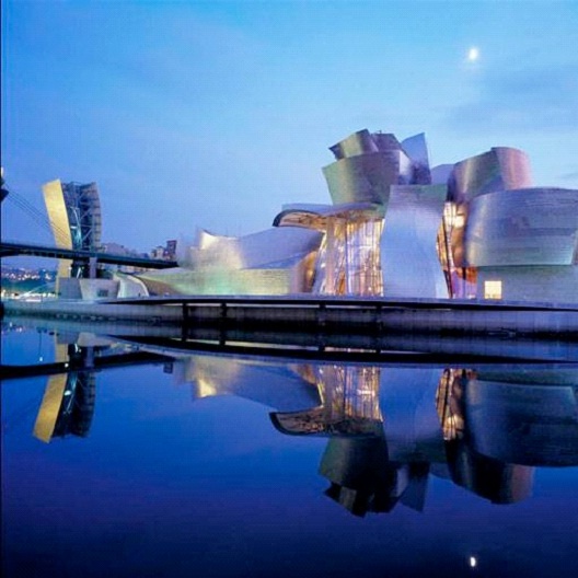 The Guggenheim - Bilbao, Spain-Most Beautiful Architectural Structures In The World