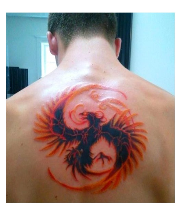 Mortal Kombat-Amazing Looking Phoenix Tattoos