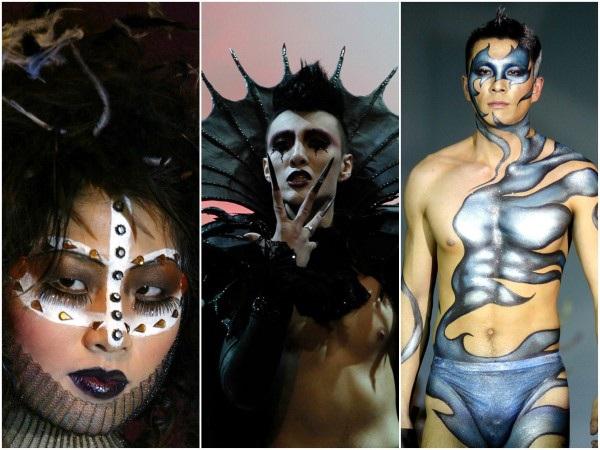 Season New Make-up Trends-Craziest Catwalk Shows