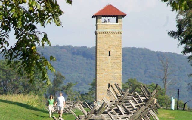 Antietam Battlefield-Most Amazing Observation Towers