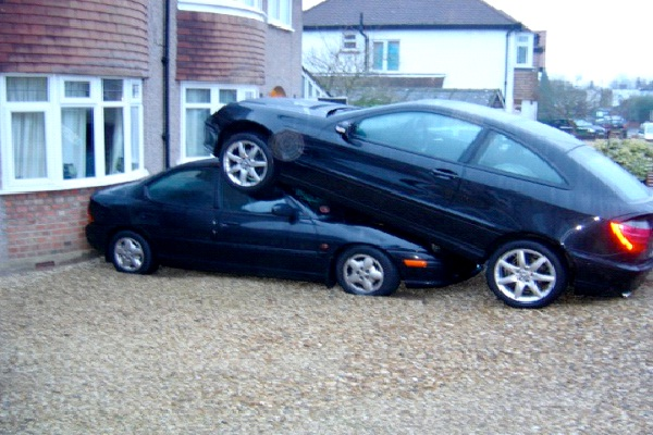 Over The Top-Craziest Parkings Ever