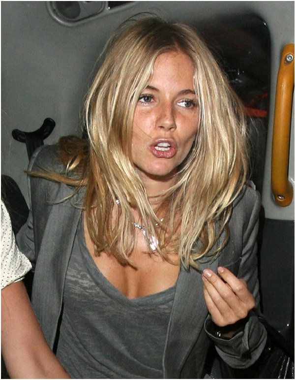 Sienna Miller-Celebrities Who Don't Wear Makeup
