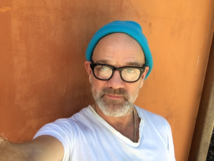 Michael Stipe-Rock Star Selfies