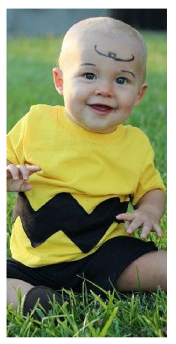 charlie brown homemade halloween costumes for kids