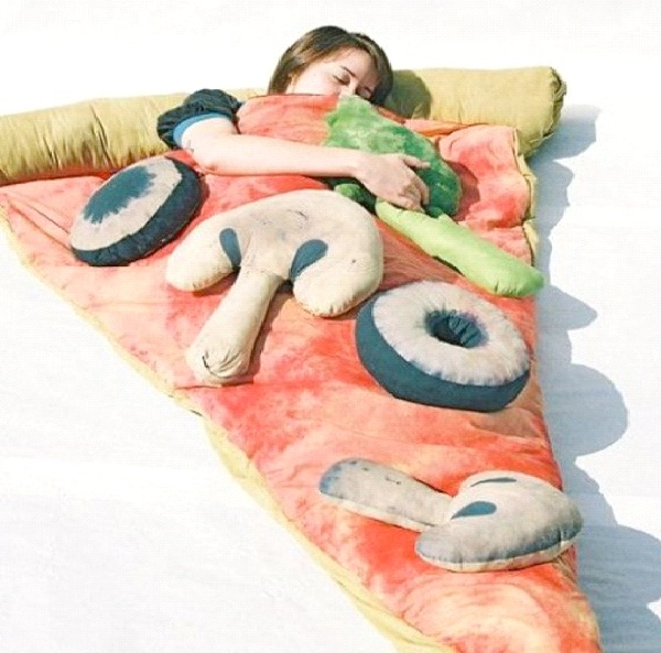 Pizza Parlor-Weirdest Sleeping Bags