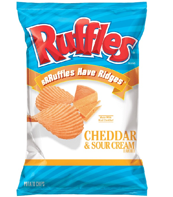 Ruffles Potato Chips-Best Chips In The World