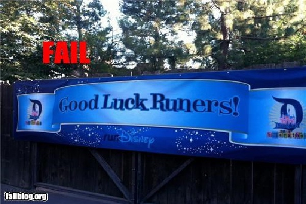 Learn to spell-Disneyland Fails