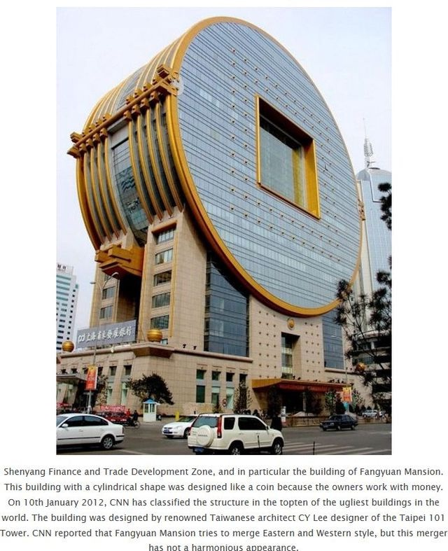 Fangyuan Mansion, China-World's Craziest Buildings