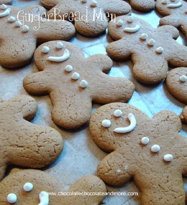 Gingerbread Men-Christmas Recipes